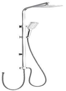 Душевая панель Gllon GL-C006-7 хром ручной душ