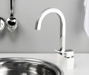 Смеситель для кухни WasserKRAFT Aller 1067WHITE