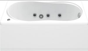 Ванна акриловая  BAS Лима 130х70x49