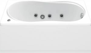 Ванна акриловая BAS ТЕССА 140х70 без гидромассажа