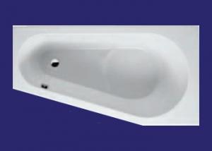 Ванна RIHO  Delta 150 левая без гидромассажа