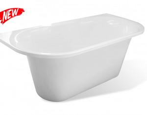 Эстет Лира ванна из литого мрамора