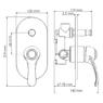 Смеситель в ванную WasserKRAFT Isar 1361