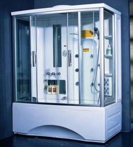 Душевая прямоугольная кабина с ванной Appollo TS-1700W