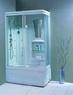 Душевая прямоугольная кабина с ванной Appollo TS-41W L