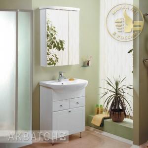 Комплект мебели для ванной комнаты Акватон Норма 65 белый