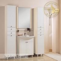 Комплект мебели для ванной комнаты Акватон Альпина 65 дуб молочный
