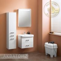 Комплект мебели для ванной комнаты Акватон Америна 60 Белый
