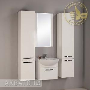 Комплект мебели для ванной комнаты Акватон Ария 50 белый