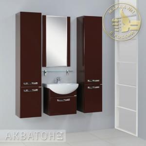 Комплект мебели для ванной комнаты Акватон Ария 50 (2 цвета)