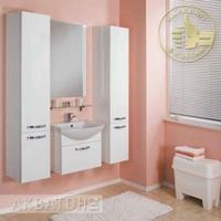 Комплект мебели для ванной комнаты Акватон Ария 65 белый