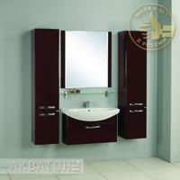 Комплект мебели Акватон Ария 80 тёмно-коричневый
