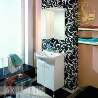 Комплект мебели для ванной комнаты Акватон Джимми 57 М