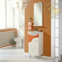Комплект мебели для ванной комнаты Акватон Колибри 45 Рыжий