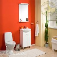 Комплект мебели для ванной комнаты Акватон Мира 45