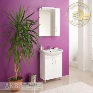 Комплект мебели для ванной комнаты Акватон Онда 60