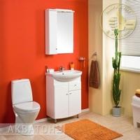 Комплект мебели для ванной комнаты Акватон Пинта М 60