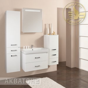 Комплект мебели Акватон Америна 80 белый