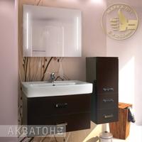 Комплект мебели Акватон Америна 80 темно-коричневый