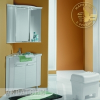 Комплект мебели для ванной комнаты Акватон Альтаир 62 белый