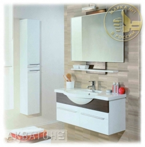 Комплект мебели Акватон Логика 110 Венге