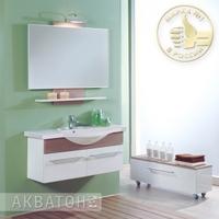 Комплект мебели Акватон Логика 110 Лен