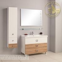 Комплект мебели Акватон Стамбул 105 эбони светлый