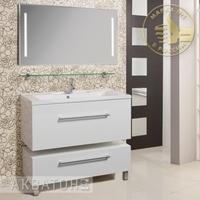 Комплект мебели Акватон Мадрид 100 белый