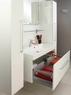 Комплект мебели Акватон Мадрид 100 бордо темный