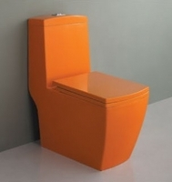 Унитаз напольный Style Lux 050 оранжевый