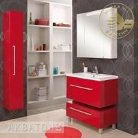 Комплект мебели Акватон Мадрид 80 бордо темный