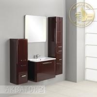 Комплект мебели Акватон Валенсия 75 Гранат