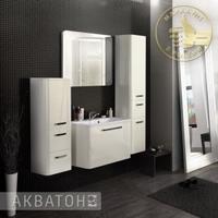 Комплект мебели Акватон Валенсия 75 Белый жемчуг