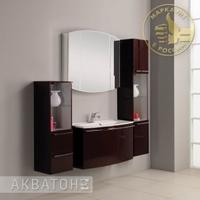 Комплект мебели Акватон Севилья 95 гранат