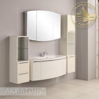 Комплект мебели Акватон Севилья 120 белый жемчуг