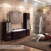 Комплект мебели Акватон Севилья 120 гранат