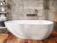 AquaStone Флоренция ванна из литого мрамора