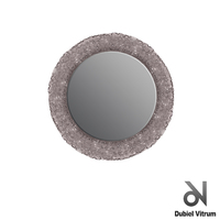 Зеркало в ванную комнату  Dubiel Vitrum Помпея Круг Smoked 98x98