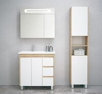Комплект мебели COROZO Остин 80 сонома