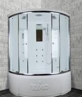 Душевая угловая кабина с ванной TIMO T-7735