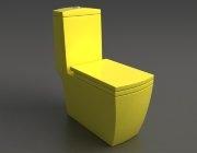 Унитаз напольный Style Lux 050 желтый