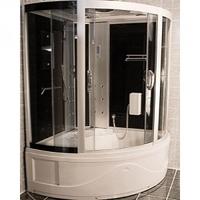 Душевая угловая кабина с ванной OSK (8610)