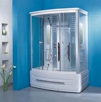 Душевая прямоугольная кабина с ванной OSK-805