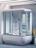 Душевая прямоугольная кабина с ванной Apollo A-0735