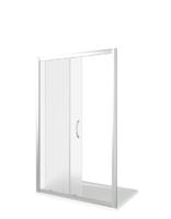 Душевая дверь Good Door LATTE WTW-130-G-WE