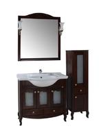 Комплект мебели ASB Woodline Флоренция-105 Витраж бук (Массив ясеня)