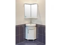 Комплект мебели для ванной комнаты АКВА РОДОС Глория 45 угловая