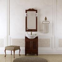 Комплект мебели для ванной комнаты OPADIRIS ТИБЕТ 55 ОРЕХ АНТИК