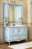 Комплект мебели Аллигатор Capan Е(D) (цвет 9018 + патина серебро)
