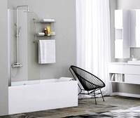 Шторка в ванну WasserKRAFT Leine 35P01-80